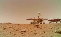 Çin'in uzay aracı da Mars'a indi