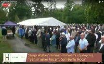 Mehmet Ali Şengül Ağabey'i rahmet-i rahmana uğurladık