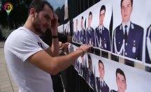 Eski askeri öğrenciler AİHM kapısında eylem yaptı
