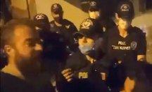 Saldırganlara polis yol gösterdi: Sessiz olun, parça parça hareket edin