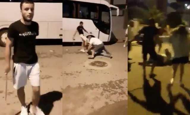 Gelecek Partisi yöneticisi kadın ve eşine palalarla saldırdılar