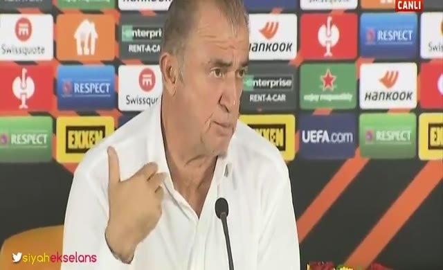 Terim, Lazio maçının ardından İtalyanca konuştu