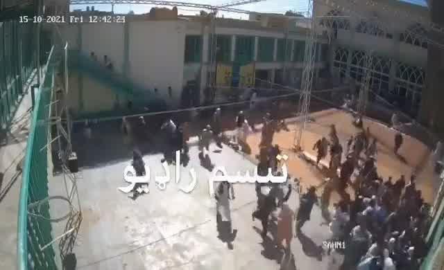 IŞİD'in Kandahar'daki intihar saldırısının görüntüleri ortaya çıktı
