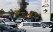 Ankara'da korkutan doğalgaz patlaması