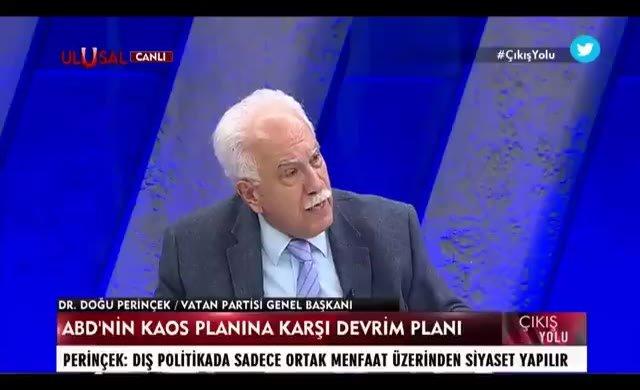 Doğu Perinçek, Erdoğan'a seslendi