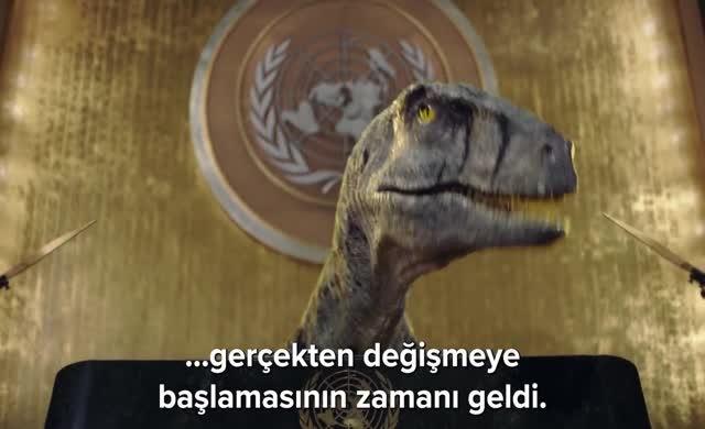BM kürsüsünde konuşan dinazor bakın neler dedi