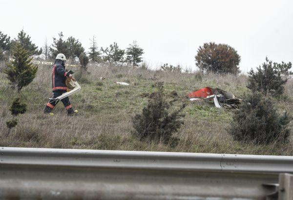 İstanbul'da Eczacıbaşı Grubu'na ait helikopter düştü!