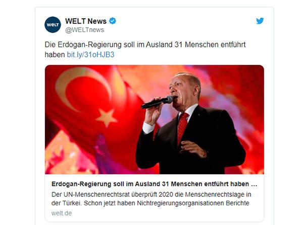"""""""Yurtdışından 31 kişi kaçırıldı"""" 2"""