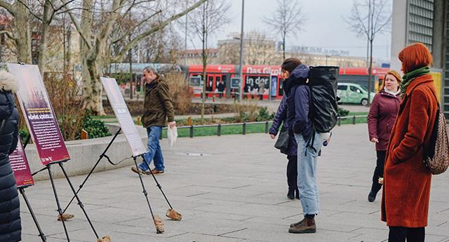 Leipzig Türkiye'deki mağdur kadınları unutmadı 3