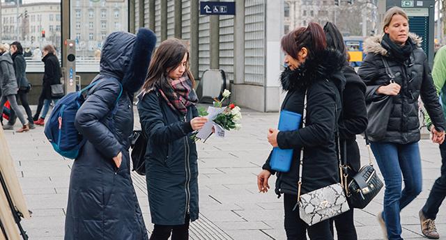 Leipzig Türkiye'deki mağdur kadınları unutmadı 2
