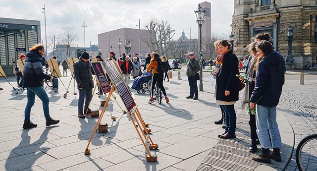Leipzig Türkiye'deki mağdur kadınları unutmadı 9