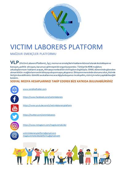 """Mağdur Emekçiler Platformu'ndan """"1 Mayıs Emek ve Dayanışma Bayramı"""" açıklaması 3"""
