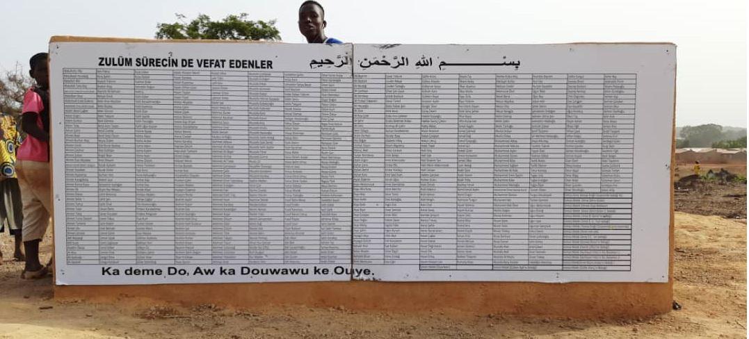 Vefat eden her bir isim için Afrika'da su kuyusu 2