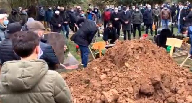 Hasan Bacak Ağabey ebediyete uğurlandı 3