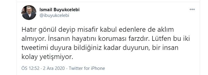 İsmail Büyükçelebi'den ciddi bir ikaz: 'İnsanın hayatını koruması farzdır' 3