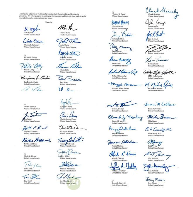 Senatörlerden Biden'a Türkiye baskısı 3