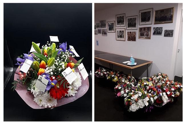 Avusturya Parlamentosundaki 73 Kadın milletvekiline çiçek gönderdiler 3